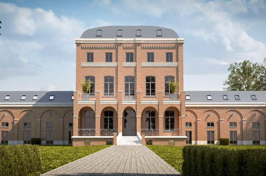 baudenkmal gutshof am see in k ln. Black Bedroom Furniture Sets. Home Design Ideas