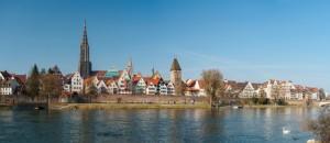 Ulm Panorama mit Münster